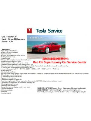 特斯拉技术服务 Tesla Technical Service